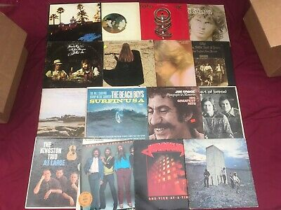 7 Classic Rock VG Record LOT 60s 70s Albums Mixed Vinyl Artist Bands Music