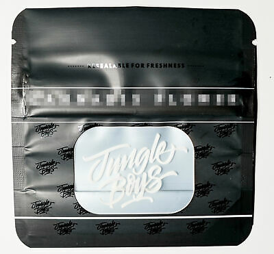 JUNGLE BOYS 3.5g Smell Proof Ziplock Bags