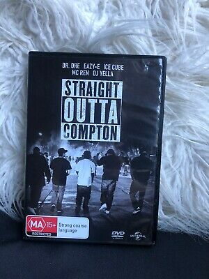 Straight Outta Compton (DVD, 2016) *FREE POST* Reg4