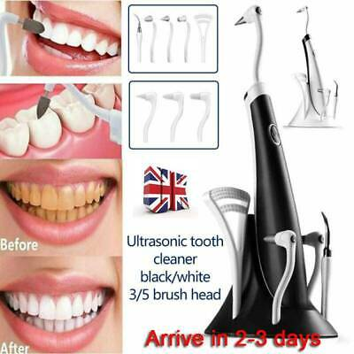 3/5 IN1 Tooth Polishing Cleaner Ultrasonic LED Electric Oral Teeth Cleaning Kit
