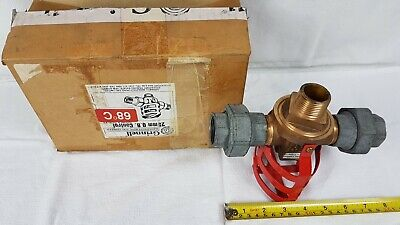 Grinnell Brass Sprinkler Head - 25mm Q.B.Control Double Outlet 68°C - Unused