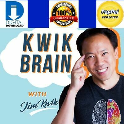 Jim Kwik collection All courses ( Superbrain,Super learning, Super reading, etc.
