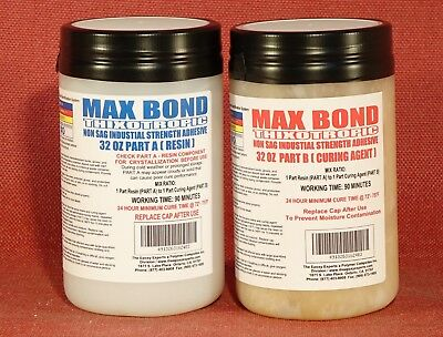 Marine Grade Epoxy Glue Non-Flowing Very Strong 4 Crack Repair, Patching Boat Rv