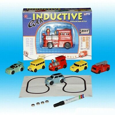 Magic Pen Inductive Car Tank Truck Toy Automatic Follow-Line You Draw Toys US