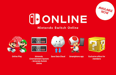 Nintendo Switch Abbonamento Online (1 Anno) Italia Exp: May 30 2021