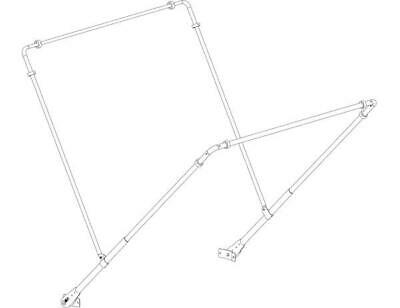 Buyers Products 5540000 | Aluminum Tarp System Tension Bow