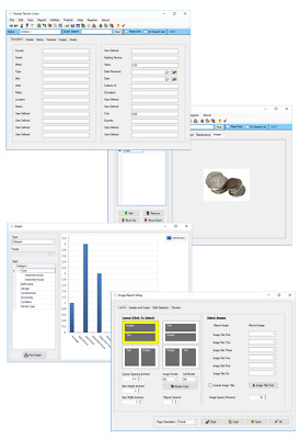 Collect Coins? Flexible  Customizable Coin Inventory Tracking Database Software
