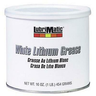 Lubrimatic White Lithium Grease 1 Pound 1 Lb. Resealable Tub 11350