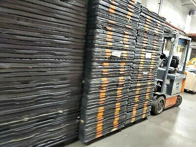 "48"" x 40""  black postal PLASTIC PALLET USED GOOD CONDITION pick up only"