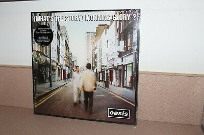 Oasis What's the Story morning glory? NEW SEALED 2 vinyl LP