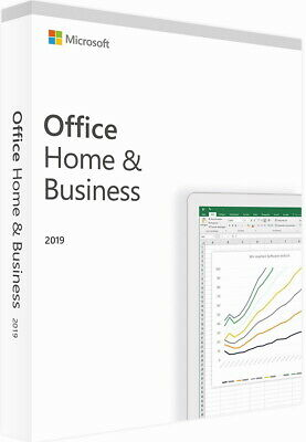 Microsoft Office Home and Business 2019, Retail - Licenza Elettronica per PC