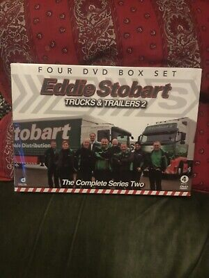 Eddie Stobart - Trucks and Trailers: Complete Series 2 DVD (2012). New & Sealed.
