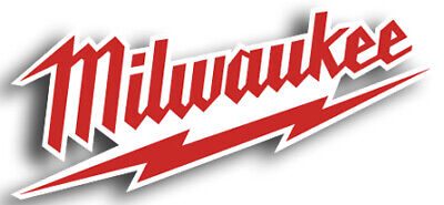 Milwaukee Tools Logo Sticker / Vinyl Decal  | 10 Sizes!!