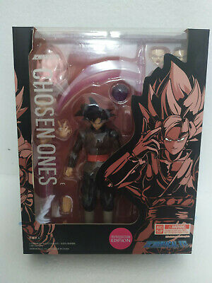 HOT Demoniacal Fit Dragonball Super Black Goku With Rose Head SHF-Type Figure
