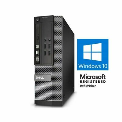 Dell 9020 i5-4570 | 16GB | 2TB | SSD Windows 10 Pro Desktop Computer PC WiFi DVD