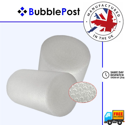 BubblePost - SMALL BUBBLE WRAP 300mm 500mm 750mm 1000mm 1200mm - ALL SIZES