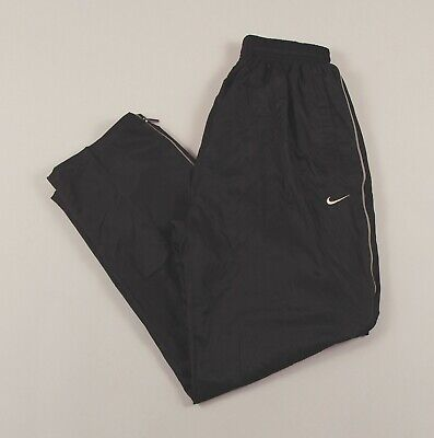 NIKE Black Jogging Bottoms Joggers Track Pants Size Youth Large /T1057