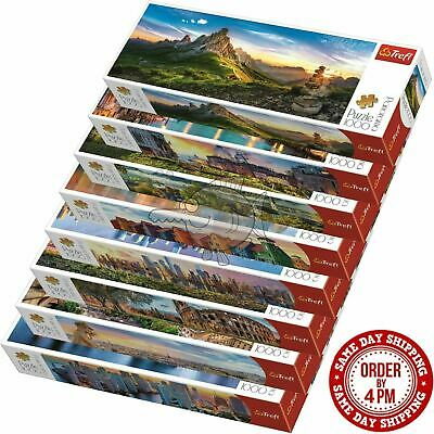 Trefl 1000 Piece Panorama Jigsaw Puzzle Landscapes Cities