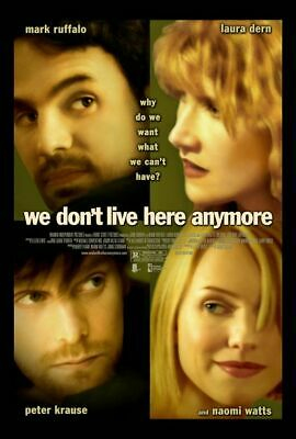 WE DON'T LIVE HERE ANYMORE 13.5x20 PROMO MOVIE POSTER
