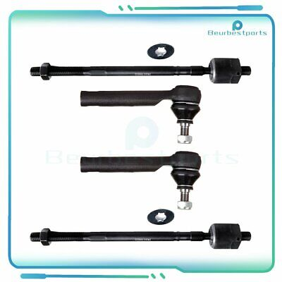 New Suspension Kit Set Of 2 Front Outer Tie Rod End Links For 1993-2003 Subaru