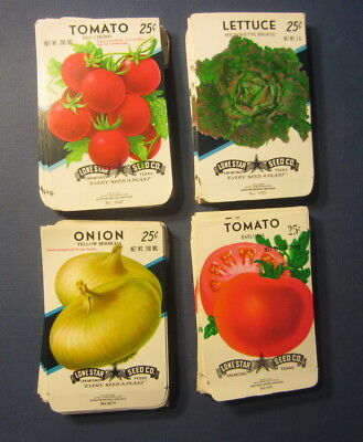 SEED PACKETS Empty Wholesale Lot of 25 Old Vintage 1940/'s Florida WATERMELON