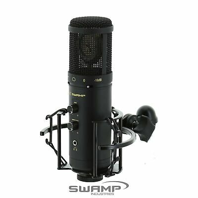 SWAMP SU600 USB Recording Microphone with Headphone Output 16-bit 24-bit Package