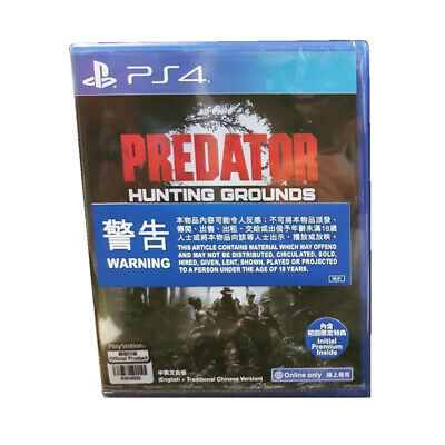 Predator Hunting Grounds PlayStation PS4 2020 English Chinese Factory Sealed