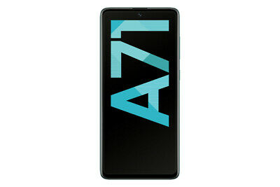 Samsung Galaxy A71 Prism Crush Blue Smartphone 6,7 Zoll 128 GB 64 MP Quad-Kamera