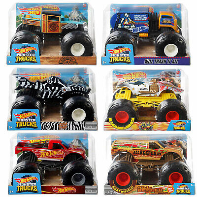 Hot Wheels Monster Trucks 1:24 Collection *Choose Your Favourite*