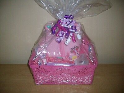 """Baby Girl """"Little Sweetie"""" Butterfly Theme Baby Shower Gift Basket"""