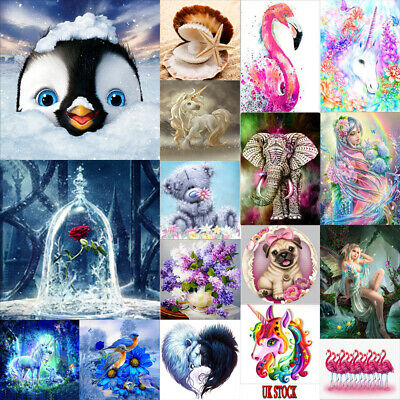 DIY Animals 5D Diamond Painting Embroidery Partial Cross Crafts Stitch Art Decor