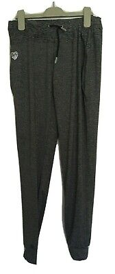 Girls Grey Marl Design Dance Exercise Fitness Trousers 12-13 F&F Vgc