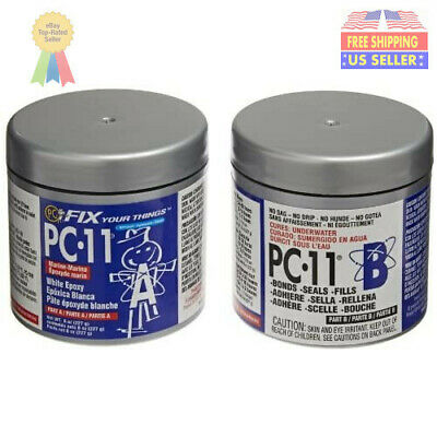 PC-Products PC-11 Epoxy Adhesive Paste, 1/2lb in Two Cans, 80115