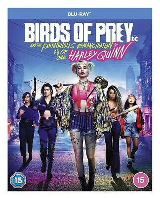 Birds of Prey (the Emancipation of One Harley Quinn) bluray PRESALE For15th June