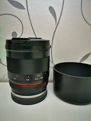 Samyang 50mm F1.2 AS UMC CS Lens in Sony E Fit APS-C a6000 series