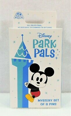 Disney Exclusive Park Pals Mystery Box Collection Sealed 2 Pin BRAND NEW CUTE