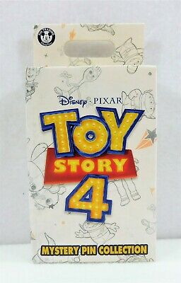 Disney Exclusive Toy Story 4 Mystery Box Collection Sealed 2 Pin BRAND NEW RARE