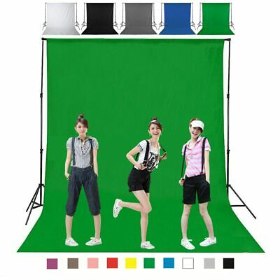 160cm Backdrop Chromakey Video Greenscreen Zoom Green Blue Background Screen Kit