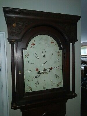 18th Century Long Case Clock John Carmichael 1772