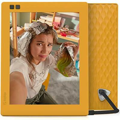 Nixplay Seed 8 Inch WiFi Digital Picture Frame Mango - Share Moments (Mango)
