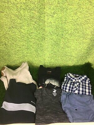 Mens Casual Bundle Joblot Branded Mixed Sizes T Shirts Shirt Jumper 6x Ted Baker
