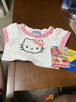 Build A Bear Hello Kitty Iconic Fashion Shirt - NWT