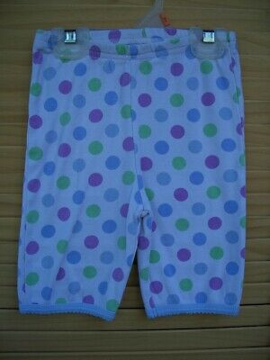 MINI BODEN polka dot pajama bottoms only~girl's size 5Y~5~purple blue green~