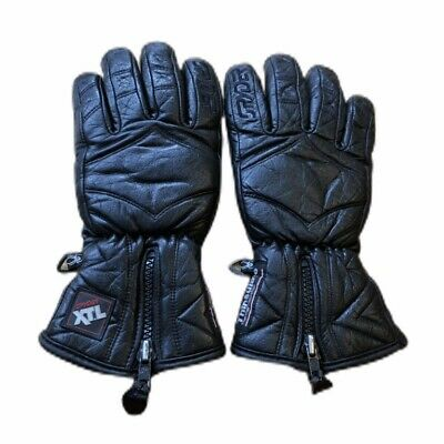 Spyder Rage XT.L Gloves Womens Size 7.5 Leather Thinsulate Black Fits Size M/L