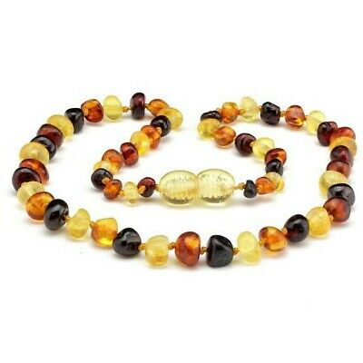 Amber Necklace - Multi-colour Amber