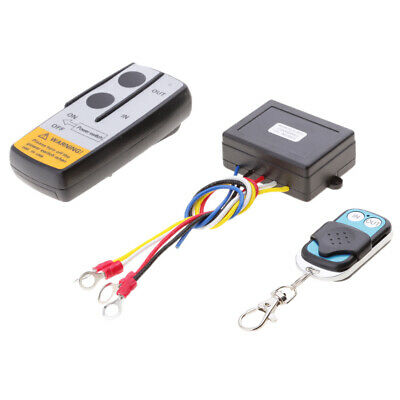 50ft Wireless Remote Control Kit Towing Products Winches for 12V truck winch.