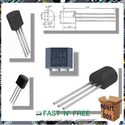 A3144 3144E OH3144 Y3144 Hall Effect Detector Switch Magnetic Sensor TO-92 5V