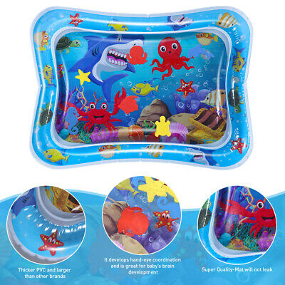 Tummy Fun Time Water Play Mat for Baby Infants Toddlers Stimulation Inflatable