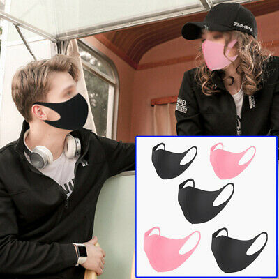 Anti-Fog Haze Face Mouth Cover Protection Filter Breathable Washable / Reusable