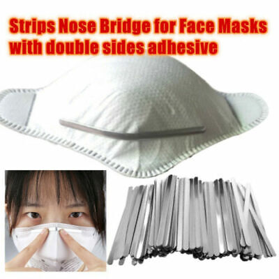 200-1000Pcs Aluminum Strip Nose Bridge Face Shield Making DIY Crafts Accessories